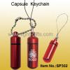 Mini Alloy Capsule Keychain