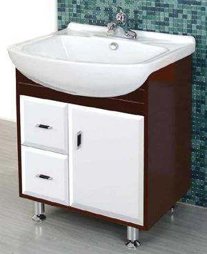 wood bath cabinet
