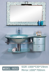 Glass Sink Vanity