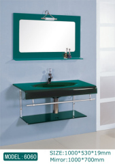 glass basin cabinets