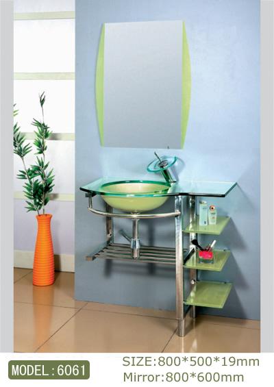 Glass Basin cabinet