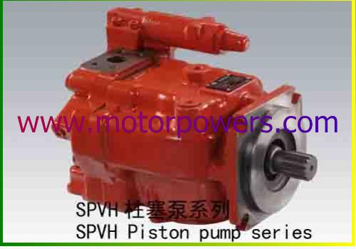 The Vickers PVH pumps