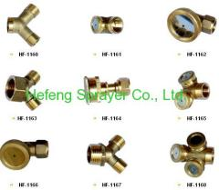 brass sprayer nozzles