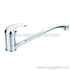 single lever Deck-mounted kitchen tap