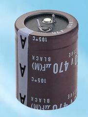DC aluminum electrolytic condenser