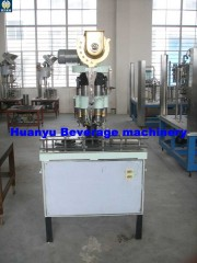 glass bottle press capper