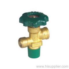 Brass cylinder valve With Safety UL approved