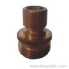 Brass male quick coupling