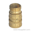 3/4'NH Brass Straight Hose Coupling