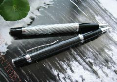 Twist Ballpointts with carbon fiber barrel