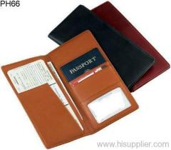 pu passport holder