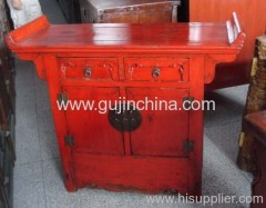 Chinese art small cabinet
