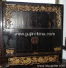 Chinese antique buddha cabinet