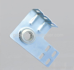 Garage door hardware bearings