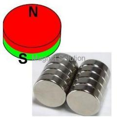 Strong neodymium disc magnet
