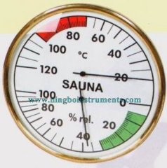Termómetro Sauna & higrómetro