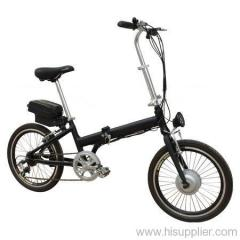 Folding alloy e bike