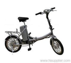 16 inch alloy folding e bike