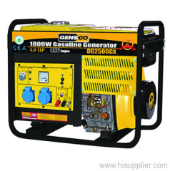 Diesel powered generator set