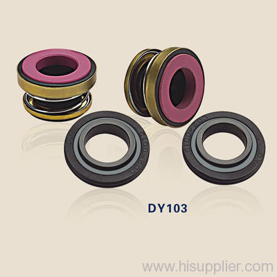 mechanical shaft seals with rubber bellowsDY103