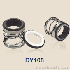 mechanical shaft seals with rubber bellows DY108