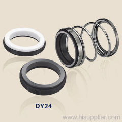 mechanical shaft seals with rubber bellowsDY24