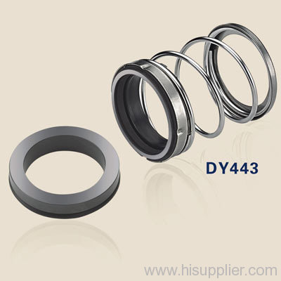 mechanical shaft seals with rubber bellows DY443