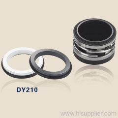 mechanical shaft seals with rubber bellows DY210