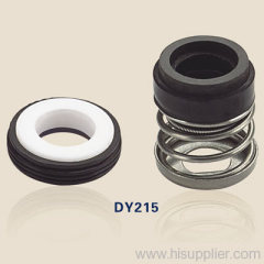 mechanical shaft seals with rubber bellows DY215