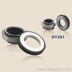 mechanical shaft seals with rubber bellows DY301