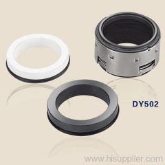 mechanical shaft seals with rubber bellows DY502