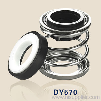 mechanical shaft seals with rubber bellows DY570