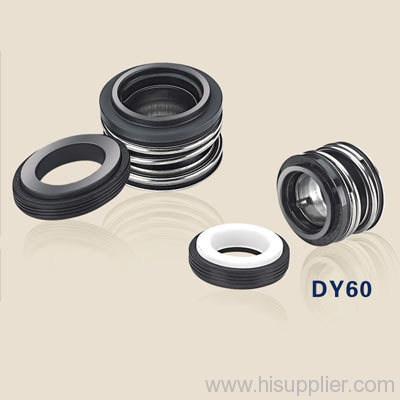 mechanical shaft seals with rubber bellows