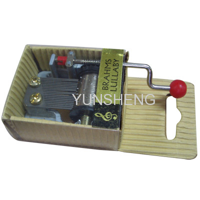 PAPER HAND CRANK MUSIC BOXES 18 NOTE POPULAR SONGS MECHANISM