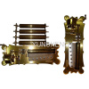 78 NOTE CLASSIC SHAPE EXCHANGEABLE DRUMS MUSIC BOX MECHANISM