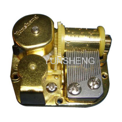 GOOD LOOKING 18 NOTE MUSIC BOX MECHANISM