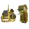 STOPPER AND ROTATION GOLDEN CLOCKWORK MUSIC BOX MECHANISM