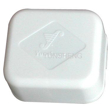 White Case Windup Music Box