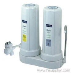 2 Stage Counter Top Water Filter