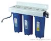 European style three stage water filter