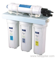 under sink filter with sterilizer