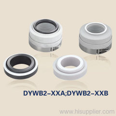 mechanical seals with teflon bellows