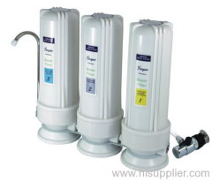 counter top 3 stage water filter