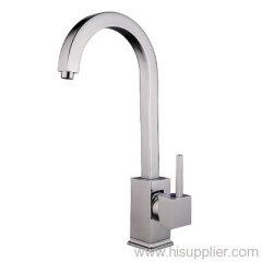 single lever kitchen tap