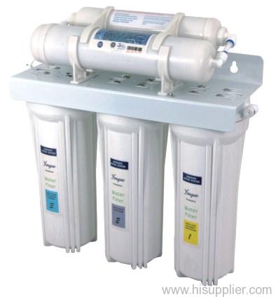 5 stages under sink water filter