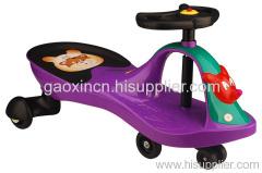 purple swing car