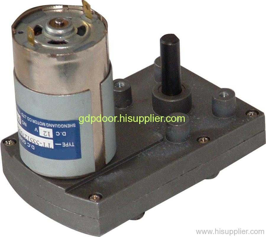 Ic Card Geared Motors From China Manufacturer Gdp