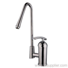 single-lever sink faucet with swivel spout