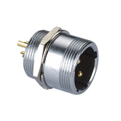 Thread locking connector socket