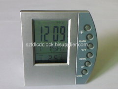 Transparent LCD Clock
